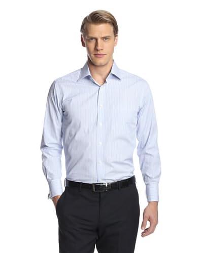 Giorgio Valentini Men's Stripe Dress Shirt with French Cuff