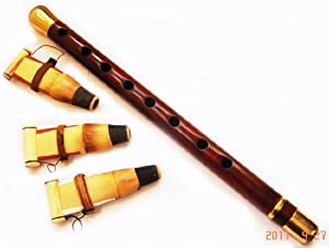 ARMENIAN DUDUK , Duduk , Doodook , from Armenia with BRONZE ENFORCEMENT and 3 Reeds , PROFESSIONAL Instrument - Made from Apricot Wood in Armenia - Oboe Mey Nay Zurna Balaban Kaval Flute