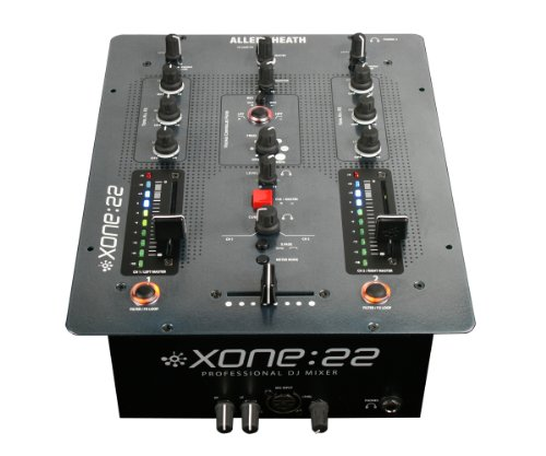 Allen  &  Heath Xone 22 DJ Mixer Mixer, mixing desk