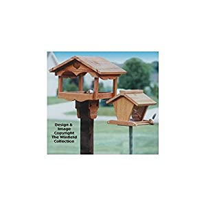 Amazon.com - Bird Feeders Wood Patterns - Woodworking Project Plans
