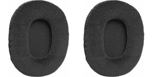 Velour Padded Earcushions for Audio Technica Athm30, Sony Mdr7506 and V6 Headphones (Pair) (Mdr V6 Pads compare prices)