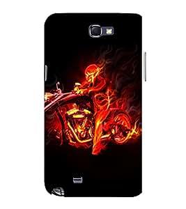 EPICCASE Ghost Rider Mobile Back Case Cover For Samsung Galaxy Note (Designer Case)