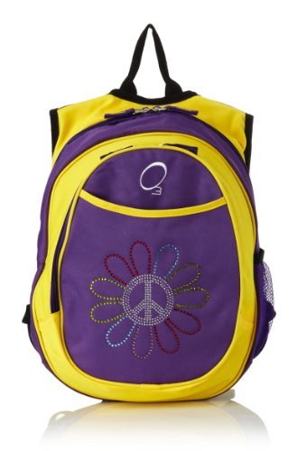 Obersee Kids All-in-One Pre-School Backpacks with Integrated Cooler, Peace