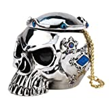 Chromed Gothic Skull Box Collectible