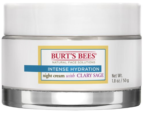 Burt's Bees Intense Hydration Night Cream, 1.8