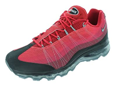 Nike Air Max '95 DYN FW Spring 2013 Early '90s inspired Air Max running. Color: BLACK/TEAM RED/GYM RED/METALLIC SILVER 554715-066, 8.5 D(M) US