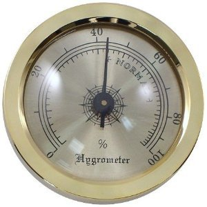 Mantello Analog Hygrometer by Mantello Cigars