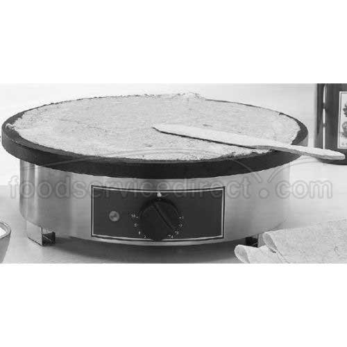 Equipex Discus Electric Crepe Machine, 17 diameter x 6 1/4 inch -- 1 each.