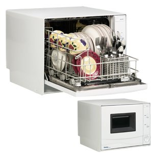 Danby DDW396W Countertop Dishwasher - 4 Place Setting Capacity