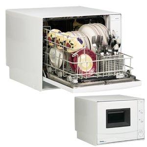 Danby Countertop Dishwasher Manual : Danby DDW396W Countertop Dishwasher - 4 Place Setting Capacity