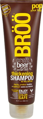 BROO Craft Beer Thickening Shampoo Citrus Creme Scent -- 8.5 fl oz - 2pc (Craft Beer Shampoo compare prices)
