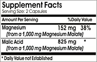 Malic Acid 825mg * 100 Caps 100 % Natural - by EarhNaturalSupplements