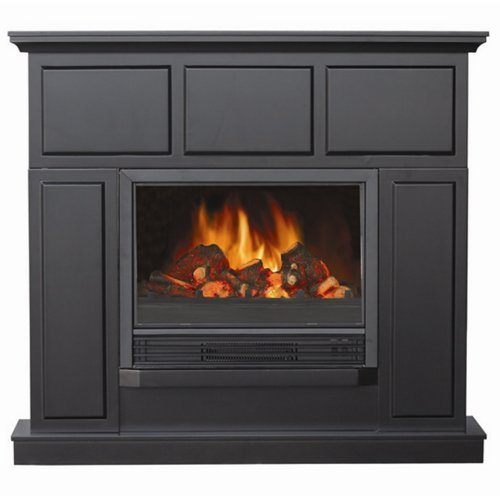Yosemite Home Decor DF-MP44 44-Inch Achilles Classic Electric Fireplace Mantel Package with Faux Wood Logs photo B009YTU6A2.jpg