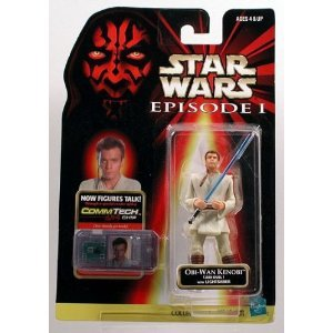 Star Wars Episode I: The Phantom Menace, Obi-Wan Kenobi (Jedi Duel) Action Figure, 3.75 Inches