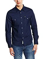 Lee Shirts Lee Western Shirt (Azul Oscuro)
