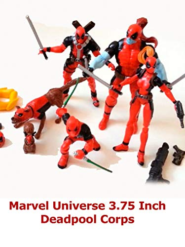 Clip: Marvel Universe 3.75 Inch Deadpool Corps