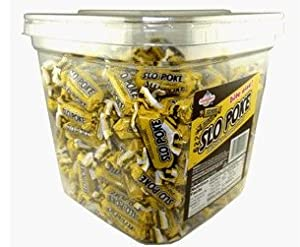Amazon.com : Classic Caramel Slo Poke Candy on a Stick 3 Pound 7 Ounce