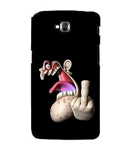 printtech Cool Man Back Case Cover for LG GPro Lite / LG G Pro Lite Dual D686