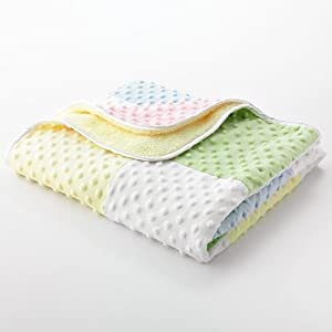Adorable Baby Patchwork Blanket So Soft