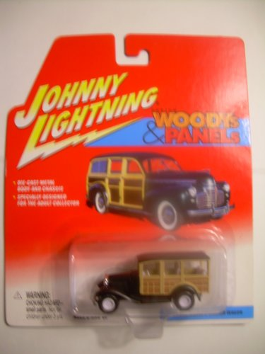 Johnny White Lightning Woody & Panels 1931 Ford Model a Station Wagon - 1