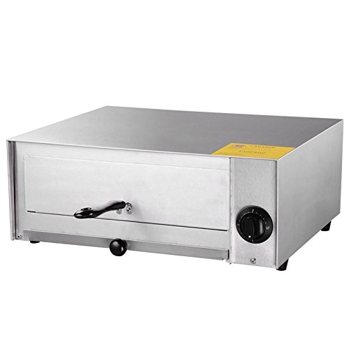 New 12 Stainless Steel Commercial Electric Pizza Oven Snack Baker Kitchen Restaurant