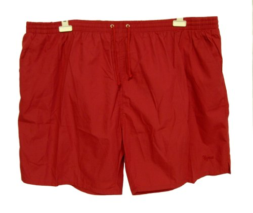 Pegasus Mens Beach Swim Swimming Beach Shorts 5XL Red Blue up to 56