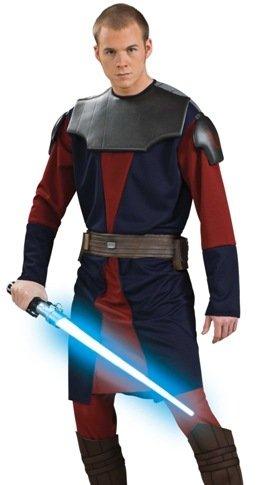 Mens Adult Halloween Costume Star Wars Anakin