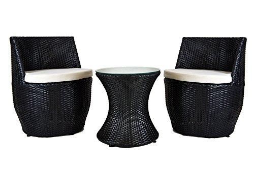 3-tlg-GARTENMBEL-SET-POLY-RATTAN-VASE-LOUNGE-BALKONSET-GARTENSET-SITZGRUPPE-SESSEL-in-2-Farben-schwarz-oder-braun-Schwarz