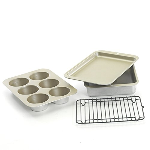 Nordic Ware Compact Ovenware 5 piece Set (Broiler Pan For Toaster Oven compare prices)
