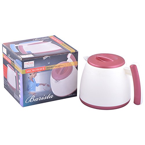 Prime Microwave Barista Instant Tea Kettle Coffee Maker, 800ml