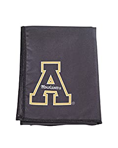Mission Athletecare College Licensed Appalachian State Enduracool Towel, Black, Large +
