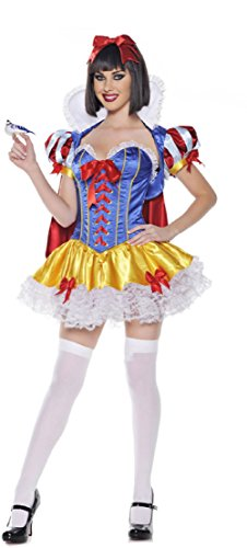Purplebox Halloween Witch Cosplay Costumes Stage Game Uniforms Disney Snow White Costume
