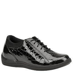Drew Shoe Women\'s Tulip Oxfords,Black,8.5 W