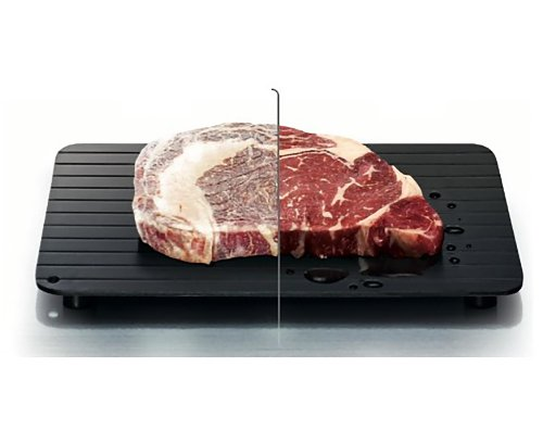 Rapid Defrosting Tray: Dramatically Speeds It Up - No Microwave Needed