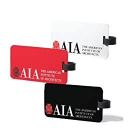 AIA Aluminum Signature Luggage Tag