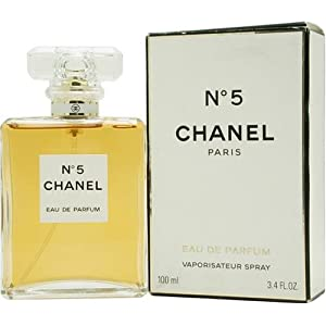 Chanel #5 By Chanel For Women, Eau De Parfum Spray, 3.4-Ounce Bottle