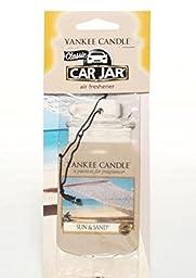 yankee candle car jar air freshener [Sun&Sand] 10P SET