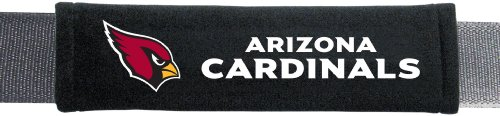 NFL Arizona Cardinals Seat Belt Pad (Pack of 2) (Cardinal Car Seat Covers compare prices)