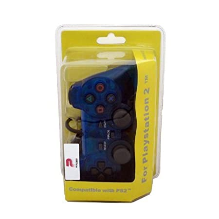 BLUE Dual Analog Controller for Playstation 2