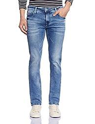 Lawman Men's Relaxed Jeans (8907395055047_PG3 KMN-1629STR RLXSLMFT BL_36W x 34L_Blue)
