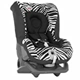 Dazzling Britax First Class Plus Car Seat in Smart Zebra - Cleva Edition ChildSAFE Door Stopz Bundle