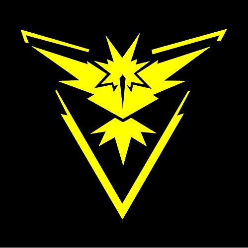 Team Instinct Pokemon GO - Yellow Vinyl Decal