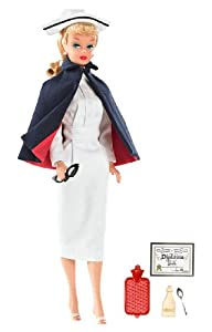 Barbie My Favorite Career Vintage Registered Nurse Barbie Doll