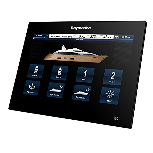 Raymarine-E70125-GS-Serie-GS125-Glas-Bridge-Multi-Touch-Multifunktionsdisplay-mit-optimalem-Sichtwinkel-aus-12-Uhr-307-cm-121-Zoll