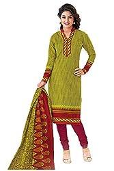 Gugaliya Women's Unstiched Superior Cotton SALWAR,KAMEEZ & DUPATTA Suit ( P504 )