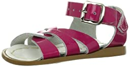 Salt Water Sandals by Hoy Shoe Original Sandal (Toddler/Little Kid/Big Kid/Women\'s),Shiny Fuschia,12 M US Little Kid