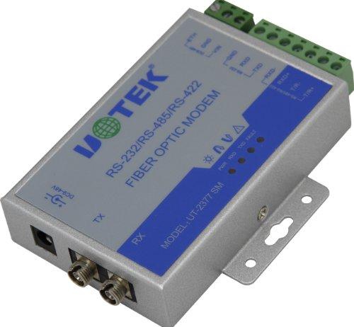 Utek Ut-2377Sm Rs-232/422/485 To Optical Fiber Media Converters
