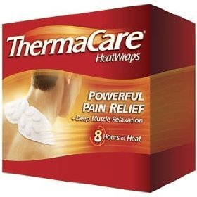 Thermacare Air Activated Neck Shoulder And Wrist Heatwraps Powerful Pain Relief Plus Deep