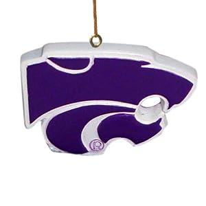 NCAA Kansas State Wildcats 3D Logo Ornament