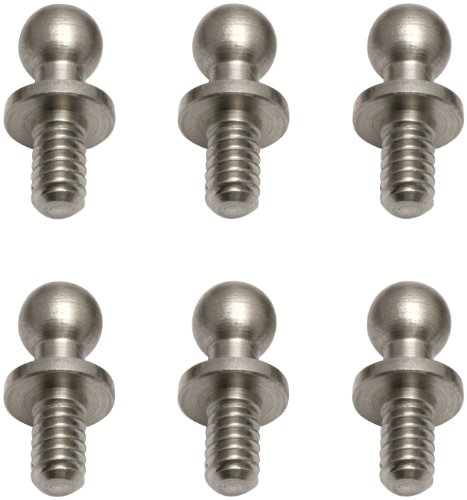 "Team Associated 6276 Ballstud, 0.200"", Silver (6)"